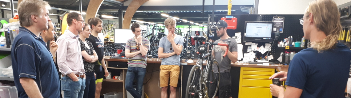 Rijwielpaleis Bilthoven racefiets onderhoud